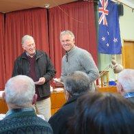 Alan gets an award