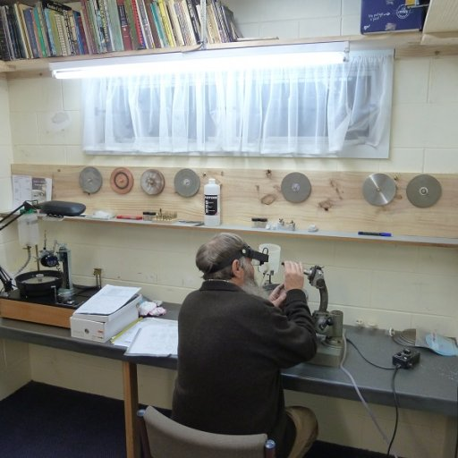 Faceting Room.