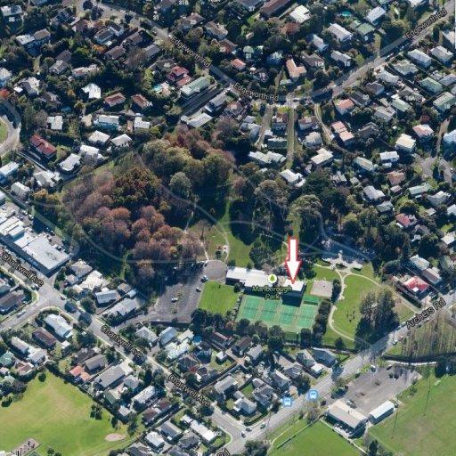 Workshop Aerial view arrowed