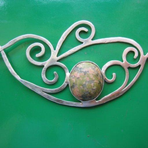 Matilda Silver pendant