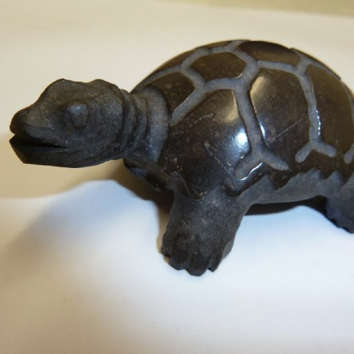 Carved Turtle by Peter Sherman