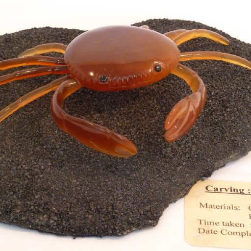 Carved Crab by  Ron Anderson